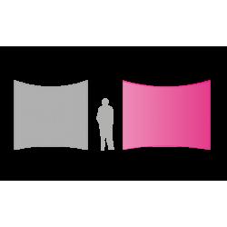 Mur image courbe medium