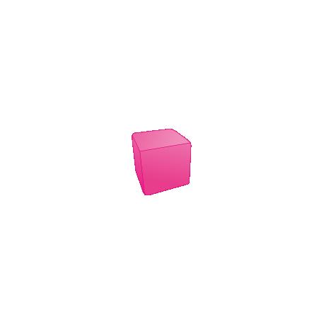 Cube mousse