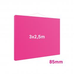 Cadre tissu Mural 85mm 3x2.5m