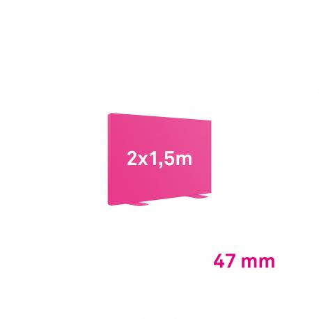 Cadre Autoportant 47mm 2 x 1.5 m