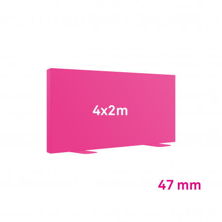 Cadre Autoportant 47mm 4 x 2 m