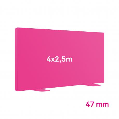 Cadre Autoportant 47mm 4 x 2.5 m