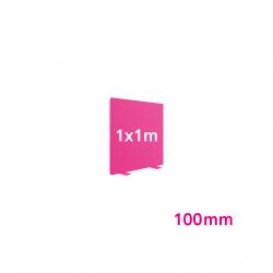 Cadre Autoportant 100mm 1 x 1 m