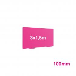 Cadre Autoportant 100mm 3 x 1.5 m