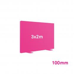 Cadre Autoportant 100mm 3 x 2 m