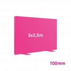 Cadre tissu Autoportant 100mm 3x2.5m