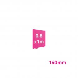 Cadre Autoportant 140mm 0,8 x 1 m