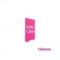 Cadre Autoportant 140mm 0,8 x 1.5 m