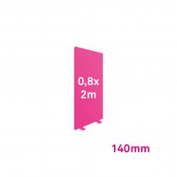 Cadre Autoportant 140mm 0,8 x 2 m