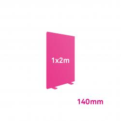 Cadre Autoportant 140mm 1 x 2 m