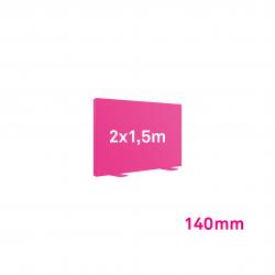 Cadre Autoportant 140mm 2 x 1.5 m