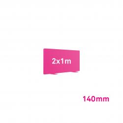 Cadre Autoportant 140mm 2 x 1 m