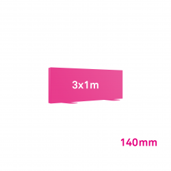 Cadre Autoportant 140mm 3 x 1 m
