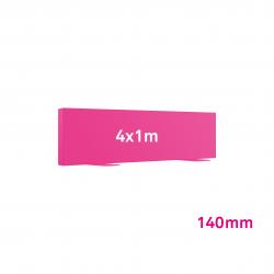 Cadre Autoportant 140mm 4 x 1 m