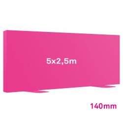 Cadre Autoportant 140mm 5 x 2.5 m