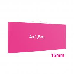 Cadre tissu Mural 15mm 4x1.5m