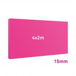 Cadre tissu Mural 15mm 4x2m