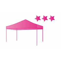 Tente pliable XPro+ taille 345