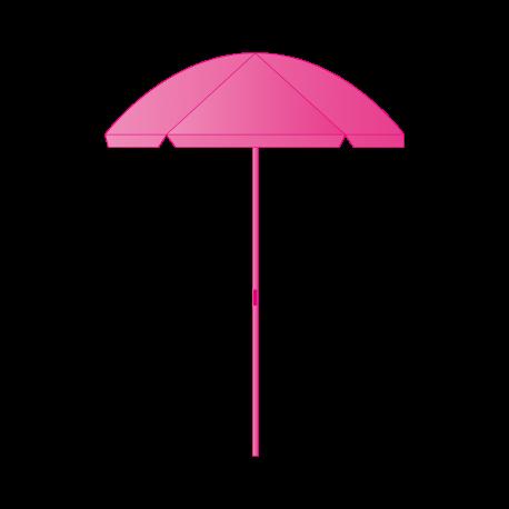 Parasol Rond 180cm - Structure avec visuel imprimé