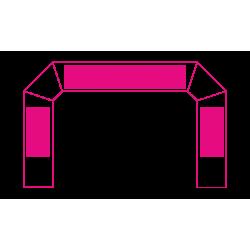 Arche air captif - marquage amovible 2.6x4m