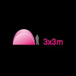 Free Shelter 3x3m