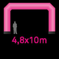 Arche air captif imprimé 4.8mx10m