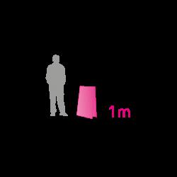 Tobblo vertical Biface 1m