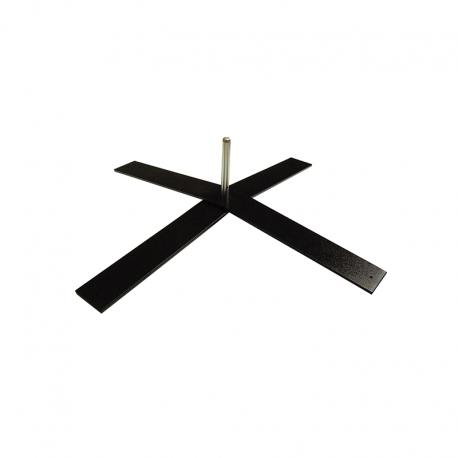 Pied croix lourd 8kg