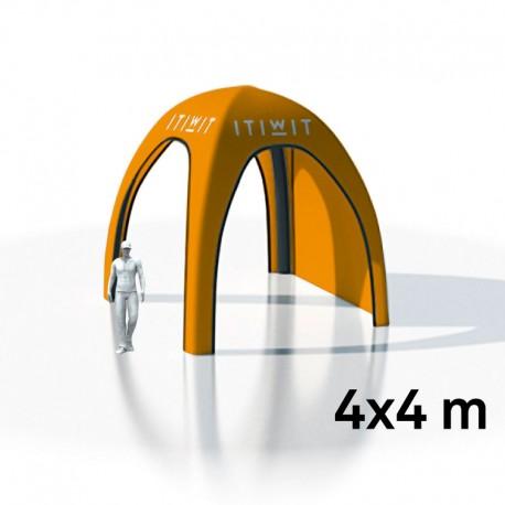 Tente Easyshelter imprimée 4x4m + 3 parois imprimées