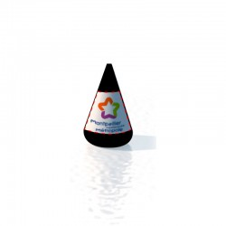 Bouée conique 125x180 Marquage fond couleur amovible 2 faces