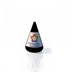 Bouée conique 155x210 Marquage fond couleur amovible 2 faces