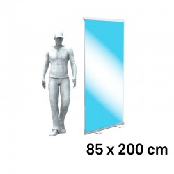Roll up visuel transparent 85x200 speciaux