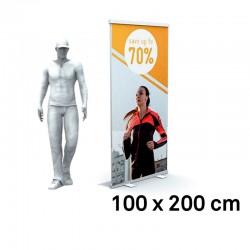 Roll up Standard 100x200