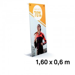 Xbanner pro complet 1,6x0,6m