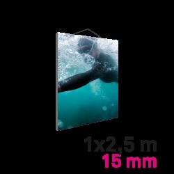 Cadre Mural Mini 15mm 1 x 2.5 m