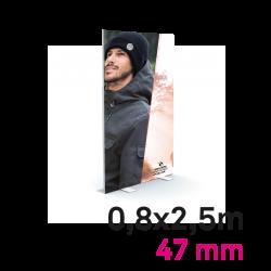 Cadre Autoportant 47mm 0,8 x 2.5 m