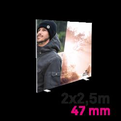 Cadre Autoportant 47mm 2 x 2.5 m