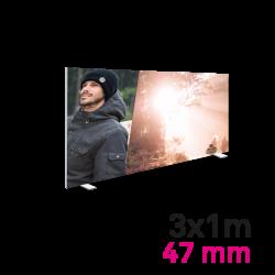 Cadre Autoportant 47mm 3 x 1 m