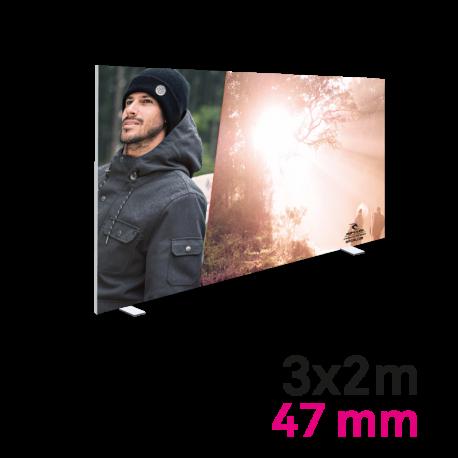 Cadre Autoportant 47mm 3 x 2 m