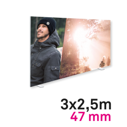 Cadre Autoportant 47mm 3 x 2.5 m