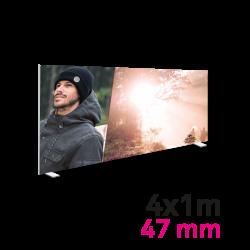 Cadre Autoportant 47mm 4 x 1 m