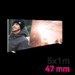 Cadre Autoportant 47mm 5 x 1 m