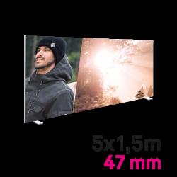 Cadre Autoportant 47mm 5 x 1.5 m