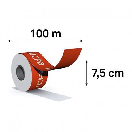 ROULEAU 100M / HAUTEUR 7,5CM