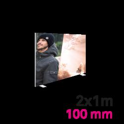 Cadre Autoportant 100mm 2x1m