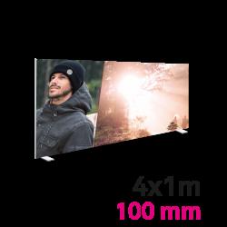 Cadre Autoportant 100mm 4 x 1 m