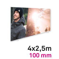 Cadre Autoportant 100mm 4 x 2.5 m