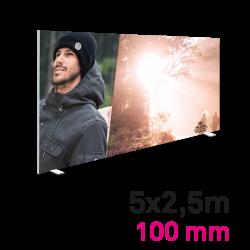 Cadre Autoportant 100mm 5 x 2.5 m