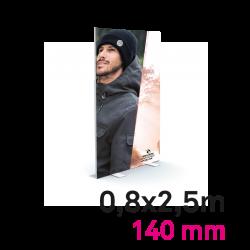 Cadre Autoportant 140mm 0,8 x 2.5 m