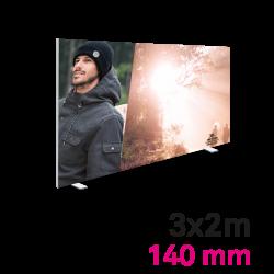 Cadre Autoportant 140mm 3 x 2 m